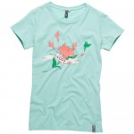 Ion T-Shirt Flower Girl Pale Green