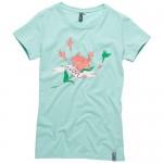Ion T-Shirt Flower Girl Pale Green