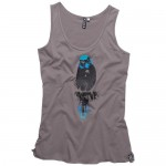 Ion Tank Top Budgie Steel Grey