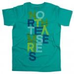 North Kiteboarding T-Shirt Alphabet Green