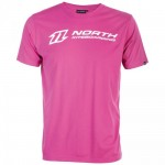 North Kiteboarding T-Shirt Logo Hibiscus Pink