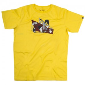 North Kiteboarding T-Shirt WAM Yellow