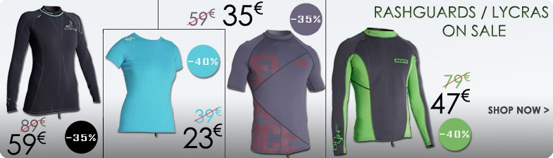 Rashguards Lycras on Sale
