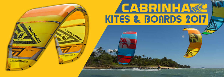 Cabrinha Kites and Surfboards 2017