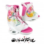 Wakeboard Bindings Liquid Force Plush Women's 2012
