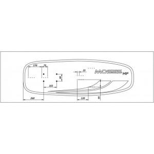T40 Moses Hydrofoil Board - Glass Fiber