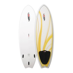 "Classic Fish E2 5'6"" NSP Surf Board"