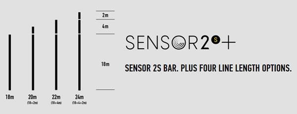 sensor 2s bar core